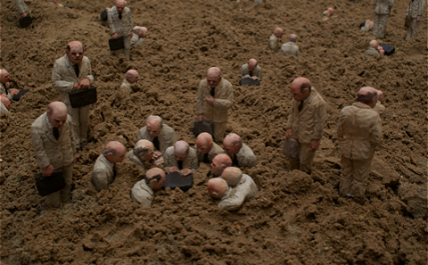 Main 2 isaac cordal follow the leaders de panne belgium meitu 2
