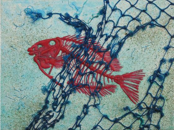 Main entangled fish